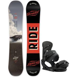 Ride Burnout Snowboard w/ Burton Mission Bindings