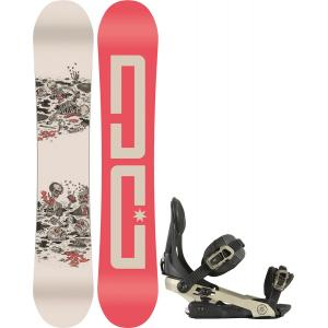 DC PBJ Snowboard w/ Rome Arsenal Bindings