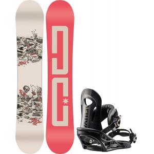DC PBJ Snowboard w/ Flux PR Bindings