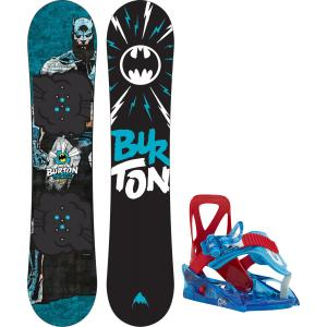 Burton Chopper LTD DC Comics Snowboard w/ Grom Bindings