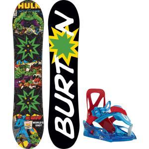 Burton Chopper LTD Marvel Snowboard w/ Grom Bindings