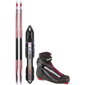 Madshus Hypersonic Skate JR XC Complete Ski Package