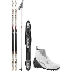 Madshus Cadenza 120 XC Complete Ski Package + Poles