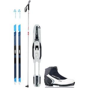 Fischer Spirit Crown My Style IFP XC Complete Ski Package + Poles