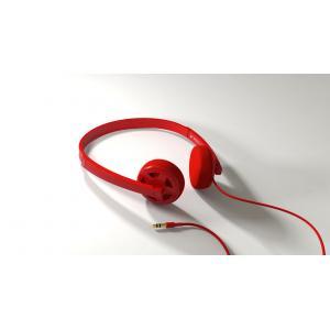 Matix Bulkhead Headphones Red