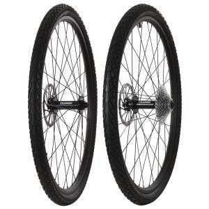 Framed Fattie Slims/Slicks F150/R197 10 Speed Wheel Set