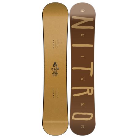 Nitro Quiver Hazzard Snowboard - Men's | Snowboards | Skisalot com