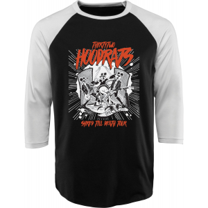 Image of 32 - Thirty Two Hood Rats Shred Till Death Baseball Shirt