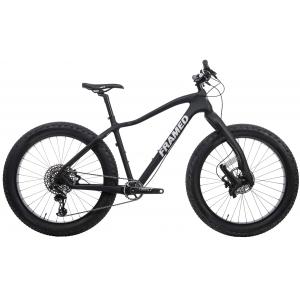 Image of Framed Alaskan Carbon Fat Bike - X01 Eagle 1X12 LTD Lauf Fork & Carbon Wheels