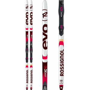 Image of Rossignol Evo XC 50 XC Skis w/ Touring Auto Combi Bindings