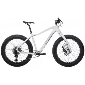 Image of Framed Alaskan Carbon Fat Bike - X01 Eagle 1X12 LTD Lauf Fork & Alloy Wheels