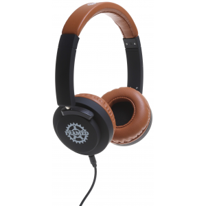 Image of Framed Transit Headphones Black/Brown