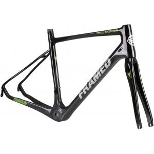 Image of Framed Mallorca Carbon Rim Brake Bike Frame