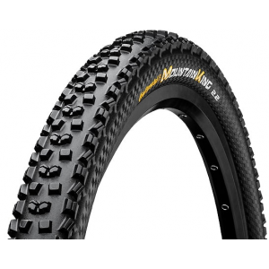 Image of Continental Mountain King II 27.5in Fold Protection + Black Chili Bike Tire