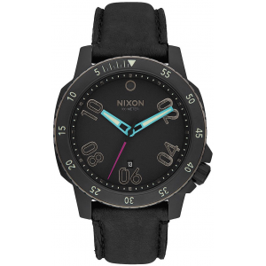 Nixon Ranger Leather Watch