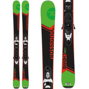 Rossignol Smash Jr Skis w/ Kid X 4 Bindings