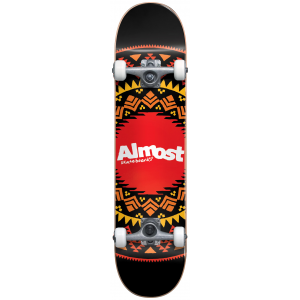 Image of Almost Aztek Geo Skateboard Complete