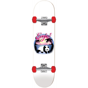 Image of Enjoi Airbrush Panda Soft Wheel Skateboard Complete