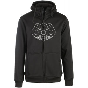 Image of 686 Icon Zip Bonded DWR Hoodie