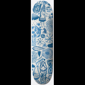 Image of Element Everything Indigo Skateboard Deck