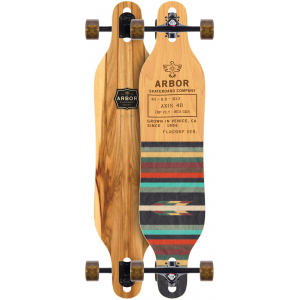 Image of Arbor Axis Flagship Longboard Complete