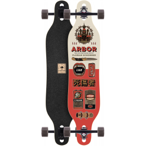 Image of Arbor Axis Artist Longboard Complete