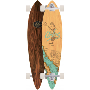 Image of Arbor Fish Groundswell Longboard Complete