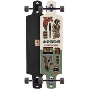 Image of Arbor Dropcruiser Artist Longboard Complete