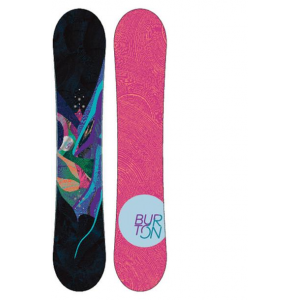 Image of Burton Lux Snowboard with Sapient Zeta Bindings