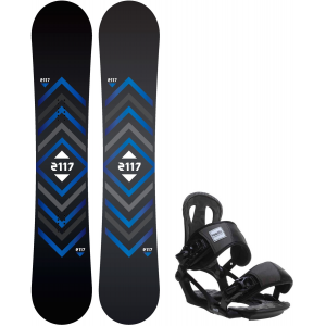 Image of 2117 Berg Snowboard w/ Head NX One Bindings