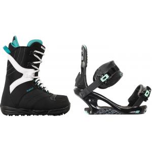 Image of Burton Coco Snowboard Boots w/ K2 Yeah Yeah Bindings