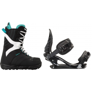 Image of Burton Coco Snowboard Boots w/ K2 Charm Bindings