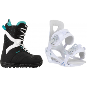 Image of Burton Coco Snowboard Boots w/ Chamonix Brevant Bindings