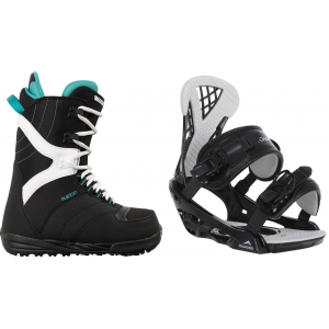 Image of Burton Coco Snowboard Boots w/ Chamonix Bellevue Bindings