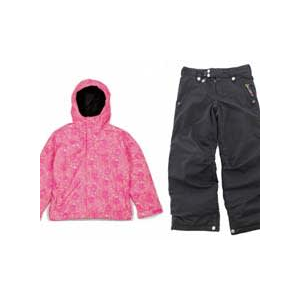 Image of Bonfire Poise Jacket Valentine w/ Sessions Star Snow Pants