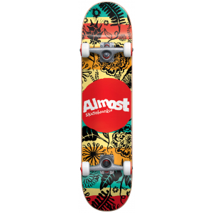 Image of Almost Primal Print Skateboard Complete