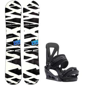Image of 2117 of Sweden Hintertux Wide Snowboard w/ Burton Custom Re:Flex Bindings