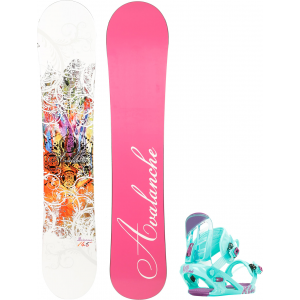 Image of Avalanche Divane Snowboard w/ K2 Kat Bindings