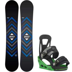 Image of 2117 of Sweden Berg Snowboard w/ Burton Freestyle Re:Flex Bindings