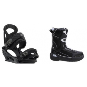 Image of 5150 Brigade Boots w/ Burton Mission Smalls Bindings