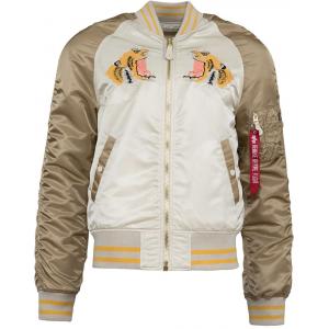 Image of Alpha Industries L-2B Tiger Souvenir Flight Jacket