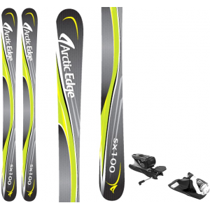 Image of Arctic Edge SX100 SB Twin Camrock Skis w/ Look NX 12 Dual WTR Bindings