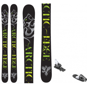 Image of Arctic Edge Tempo TT1 Camrock Skis w/ Tyrolia RX 12 Bindings