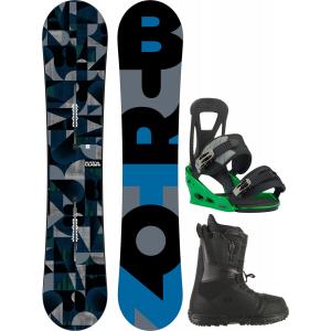 Image of Burton Clash Snowboard w/ Moto LTD Boots & Freestyle Re:Flex Bindings
