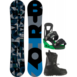 Image of Burton Clash Wide Snowboard w/ Moto LTD Boots & Freestyle Re:Flex Bindings
