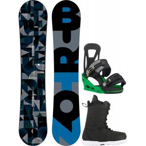 Image of Burton Clash Snowboard w/ Transfer Boots & Freestyle Re:Flex Bindings