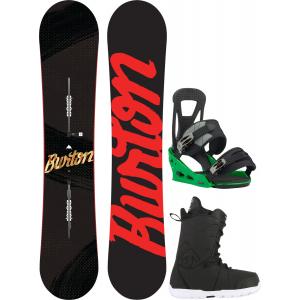 Image of Burton Ripcord Snowboard w/ Transfer Boots & Freestyle Re:Flex Bindings