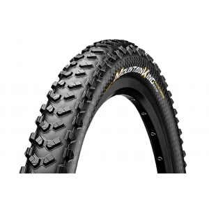 Image of Continental Mountain King II Fold Protection + Black Chili Bike Tire Black