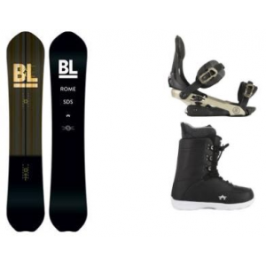 Image of Rome Blur Snowboard w/ Arsenal Bindings & Smith SE Boots