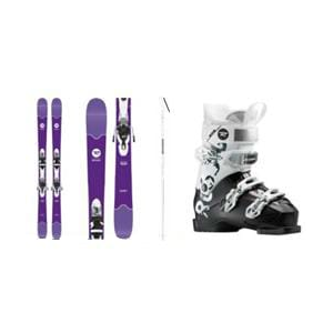 Image of Rossignol Sassy 7 Complete Ski Package